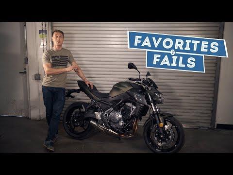 2017 Kawasaki Z650 - Favorites & Fails