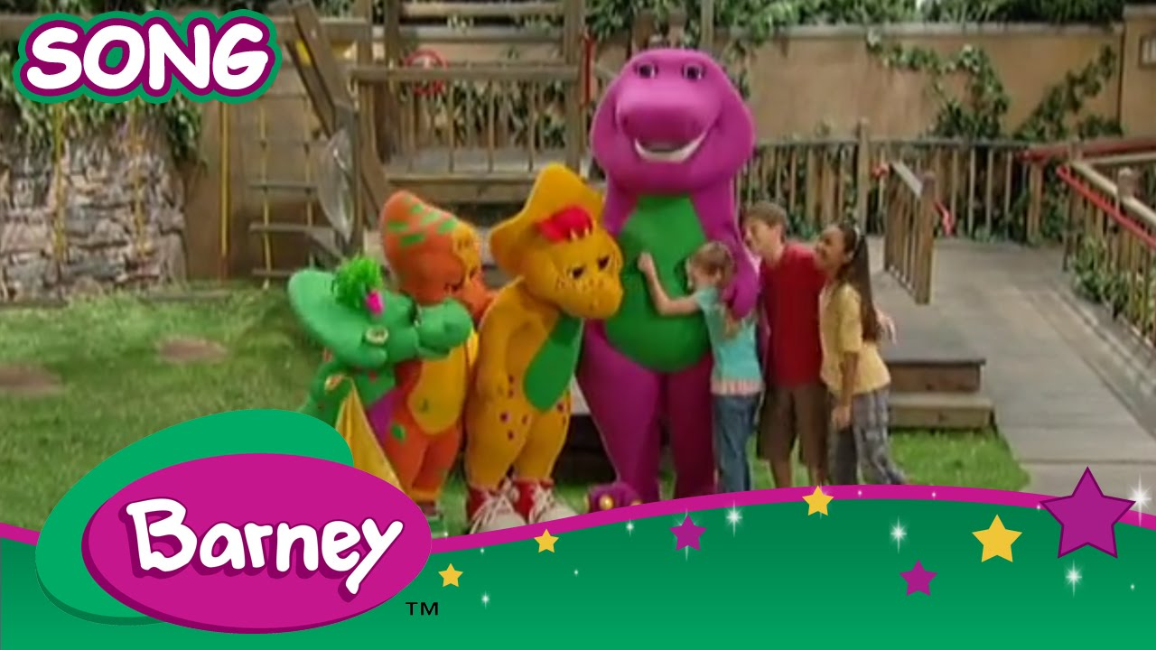 Barney I Love You Song With Lyrics Youtube