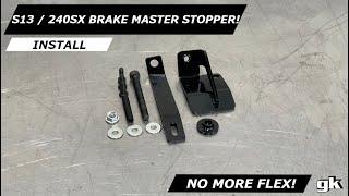 GKTech Brake Master Cylinder Stopper for Nissan S13//180SX RHD