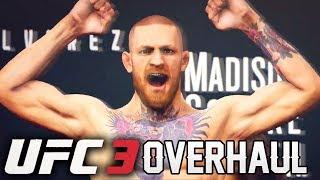 EA Sports UFC 3 Striking, Career Mode, and Ultimate Team Overhaul!