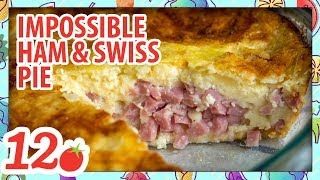 How to Make: Impossible Ham and Swiss Pie