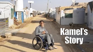 Smiling through it all: Kamel's story