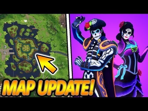 Neues map update mit cube event neuer rosita dante - Fortnite dante ...