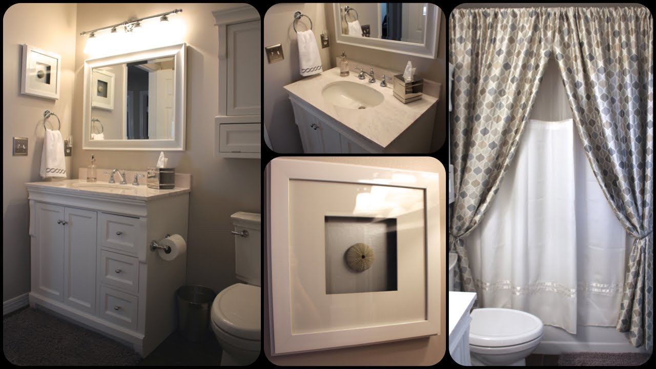 Incroyable Small Bathroom Makeover Tour