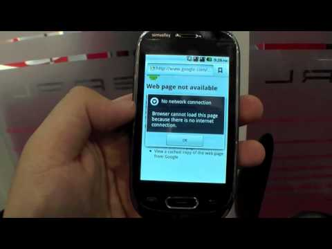 Simvalley Mobile SP-60 GPS Dual-Sim Android Phone Hands On