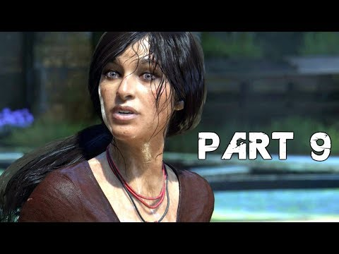 UNCHARTED THE LOST LEGACY Walkthrough Gameplay Part 9 - Throne Room (PS4 Pro)
