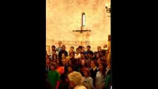 Evening rise. Pequeñas huellas - International orchestra. S M Maggiore Assisi oct 2013.avi