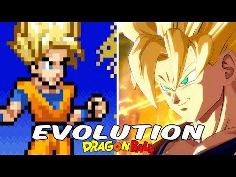 DRAGON BALL GAMES - EVOLUTION (1986 - 2018) DEFINITIVE EDITION - EVOLUCIÓN HD 1080p