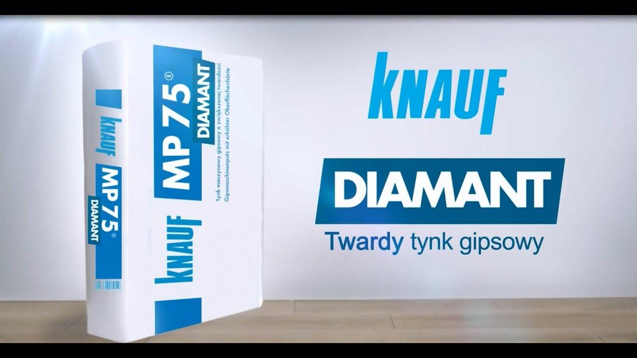 twardy tynk gipsowy knauf mp 75 diamant billboard. Black Bedroom Furniture Sets. Home Design Ideas