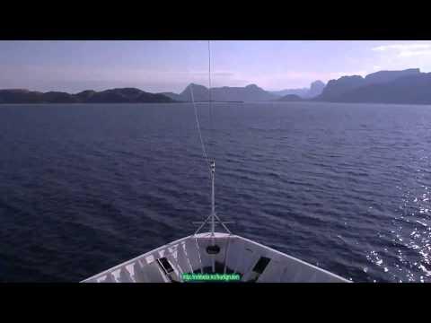 Sea Route Nesna Örnes (Norway) 22 minutes