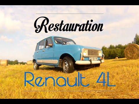 Restauration Renault 4L Complète