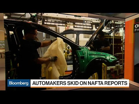 Automakers Skid on Nafta Reports