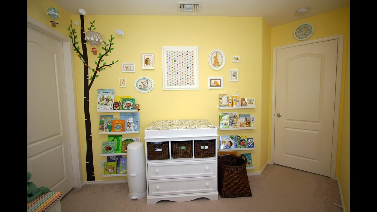 Incredible Gender Neutral Baby Room Ideas - YouTube