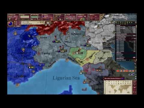 Victoria 2: How to form Italy(with Sardina Piedmont) part5