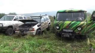 Нивы, Шеви нивы, Jeep Grand Cherokee, УАЗ, L200, Land Cruiser, Suzuki Vitara, Nissan Pathfinder.