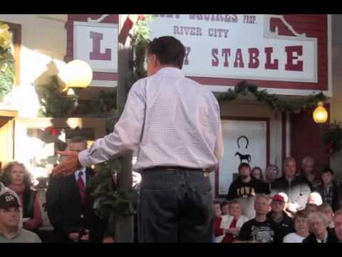 Mitt Romney in Mason City