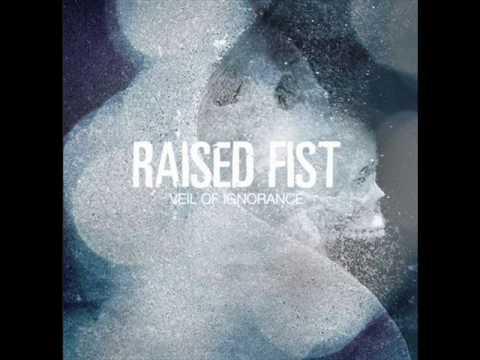 Raised fist - Afraid