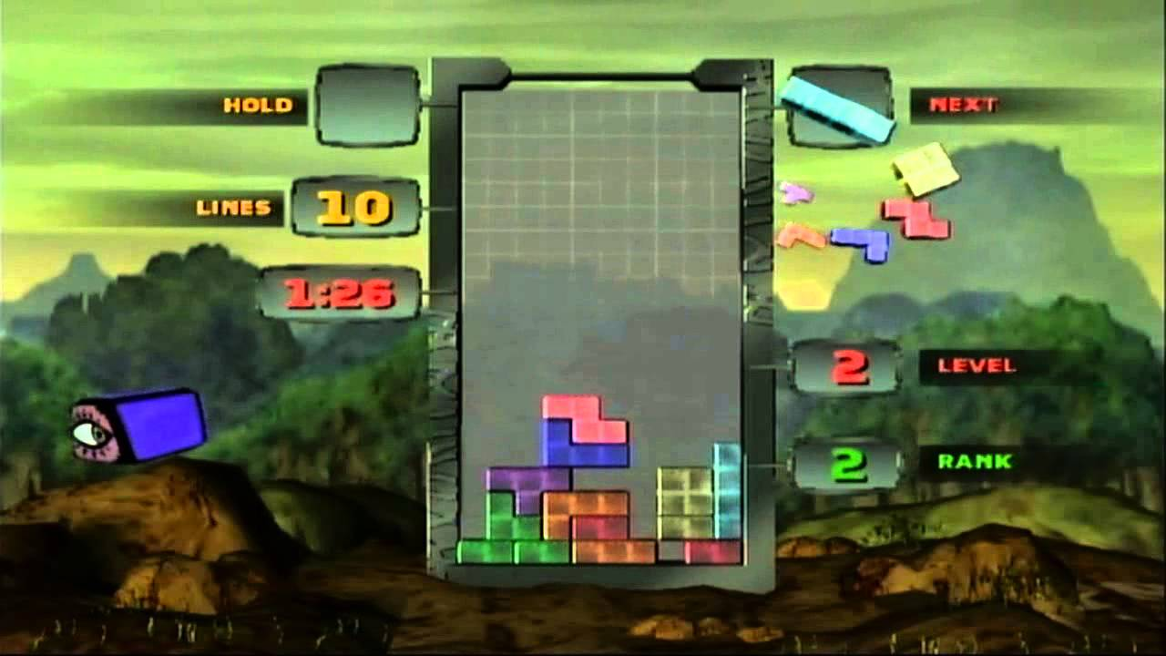 Tetris Worlds Demo Mode Gameplay (2001-2003, THQ/Radical/Blue Planet/3D6)