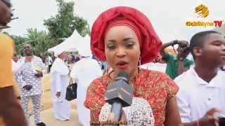 Actress, ronke odusanya's martha band celebrates thanksgiving service with nollywood stars