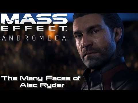 Mass Effect: Andromeda | The Many Faces Of Alec Ryder (All Presets)