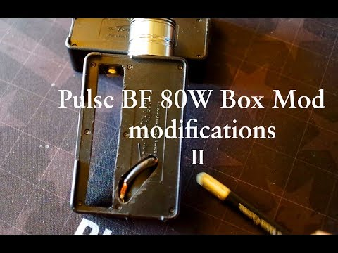 Pulse 80W Squonk Box modifications II