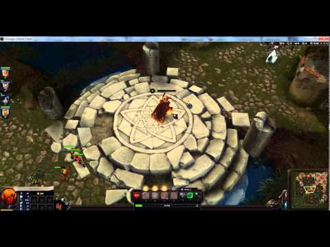 видео: Обзор игры alvegia online: battle field. Игра как дота