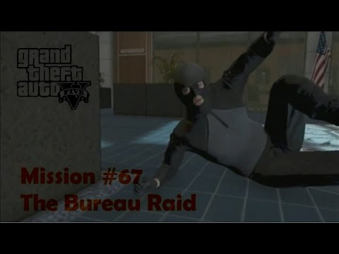 gta 5 mission 67 the bureau raid roof entry walk through youtube. Black Bedroom Furniture Sets. Home Design Ideas