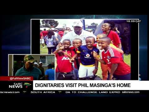 UPDATE: Dignitaries visit late Masinga's home