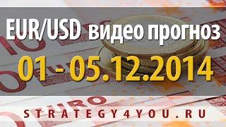 EURUSD прогноз (1-5 декабря 2014)