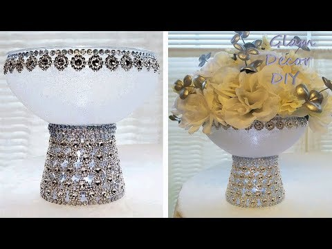 Dollar Tree DIY Bling Fall Wedding Centerpiece