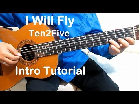 Belajar Gitar I Will Fly Ten2Five (Intro) - Belajar Gitar Fingerstyle Untuk Pemula Mudah & Simpel