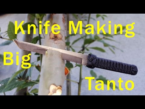 Knife Making Big Tanto
