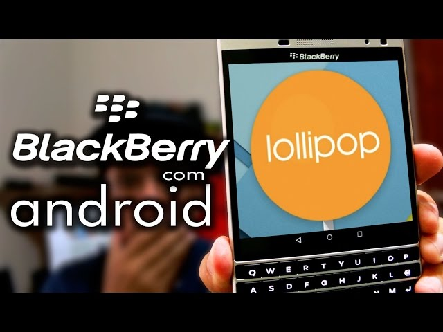 BlackBerry Passport Silver Edition 'Oslo' Spotted Running Android