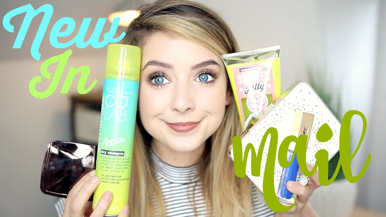 New In Beauty : Blogger Mail 2 | Zoella - YouTube
