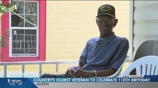 Richard Overton celebrates his 110th birthday