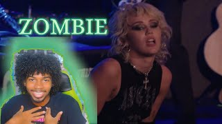 Miley Cyrus - Live from Whisky a Go Go - Zombie | Reaction!! #SOSFEST