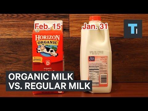 Why organic milk lasts longer than regular milk