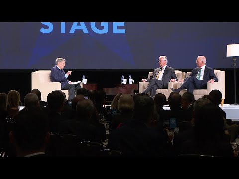 Raw Video: Former Secretaries Of State James Baker And Rex Tillerson Speak In Dallas