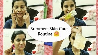 #SummerSpecial Summer Skin Care Routine | easy & effective Skin care routine for summers |