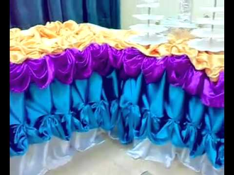 my table skirting (BUTCHOKOY'S SHOW) PART 9.mp4 - YouTube