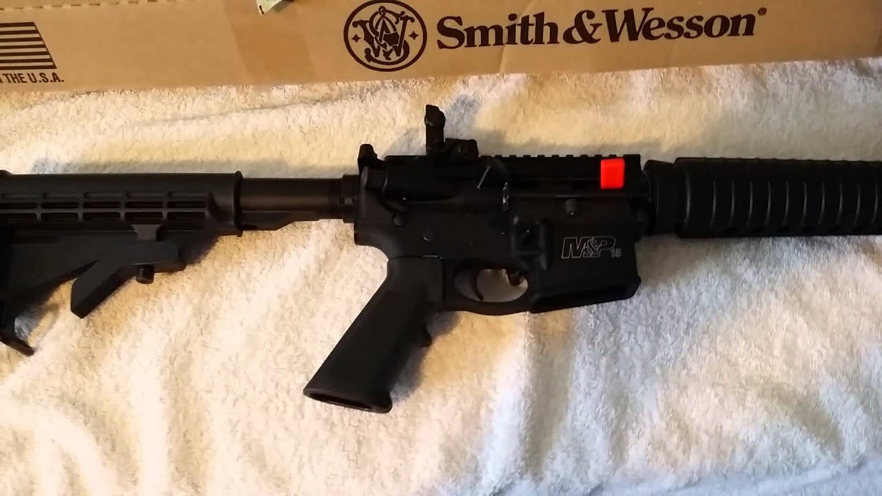 Smith And Wesson 12039 Unboxing: The Unboxing Of The Smith And Wesson M&P 15 Sport Ll