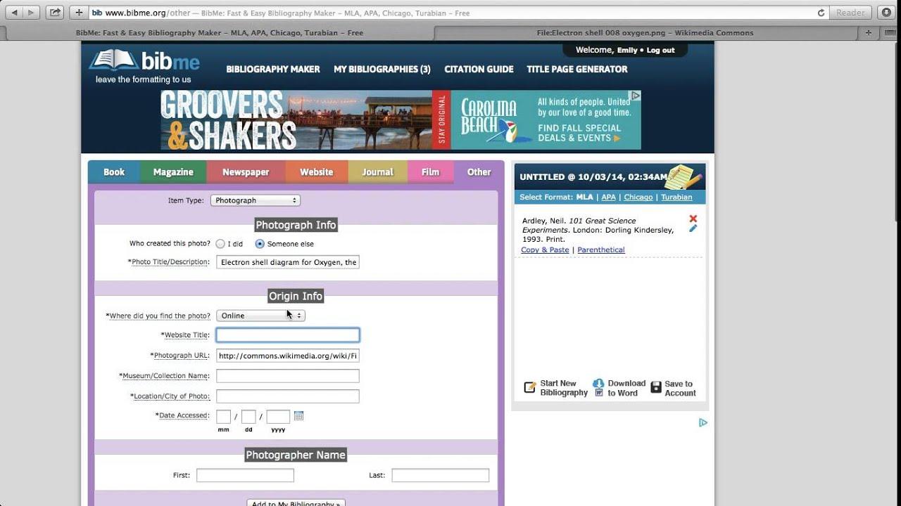 online chicago style citation generator