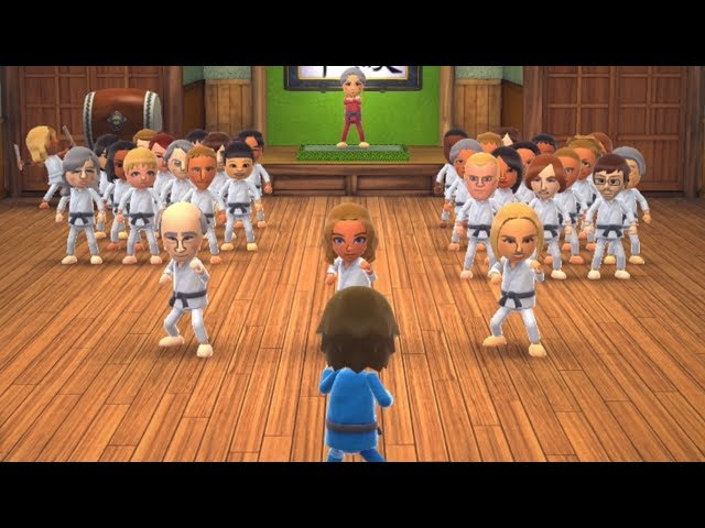 Wii Party U - Dojo Domination
