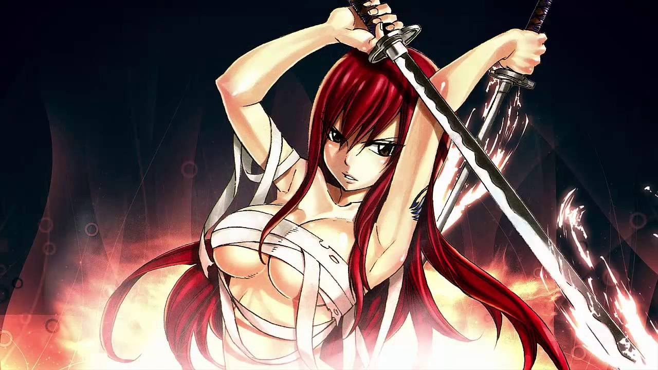 Top 5 red haired anime girls ❤