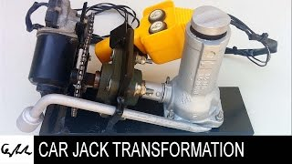 Extreme car jack transformation