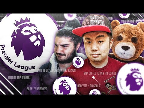 Two Idiots & a Bear Predict the Premier League! (TRIGGER WARNING)