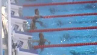 Final dos 200m medley masculino, no Mundial de Natação de Roma 2009