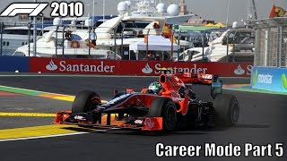 F1 2010 Career Mode Part 5 - Canada & Valencia (WE DID IT!!!)