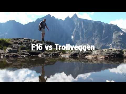 FJORDS Norway - F16 vs Trollveggen