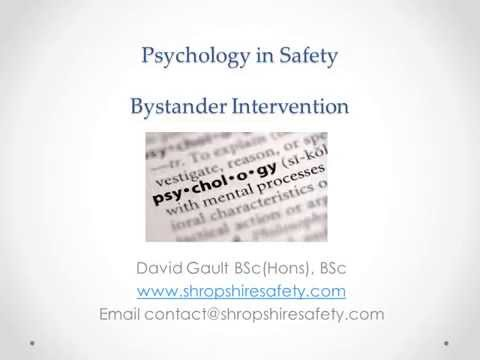 Psychology in Safety for video 1